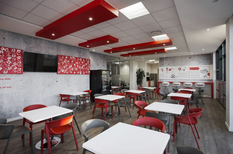 Plae Interior Design Hilti Eating Area