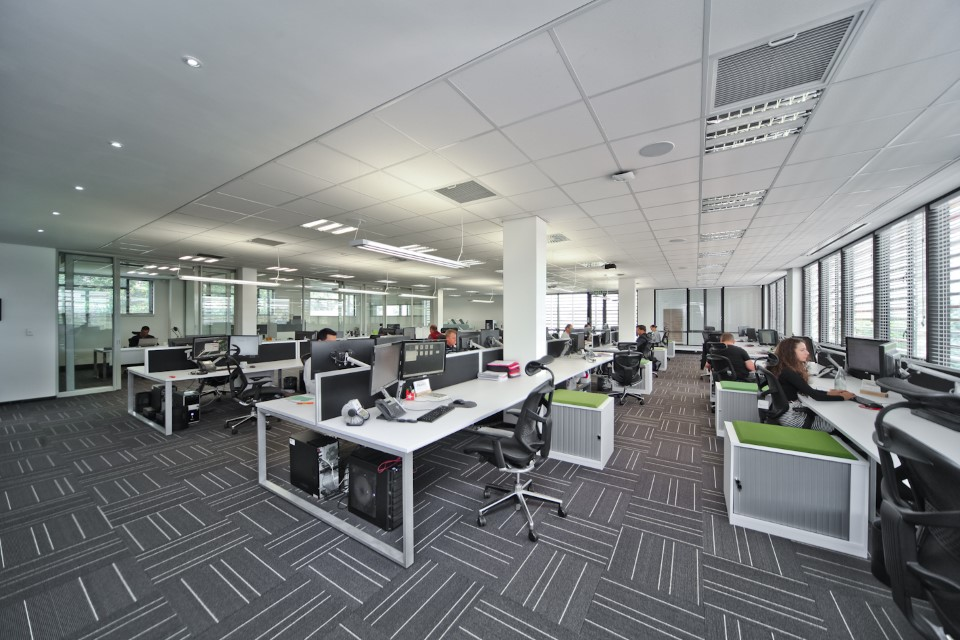 Plae Interiors ESA Offices Cubicles