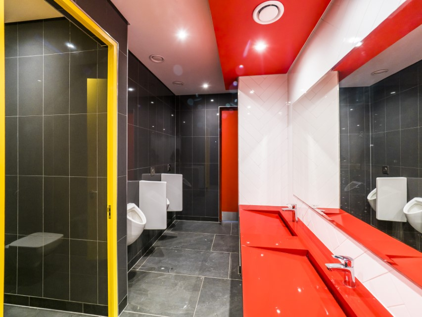 Plae Interior Design Romans Pizza Toilet 1